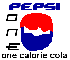 Pepsi One 1998-2003 logo by PikachuxAsh