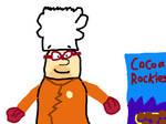 Barney Rubble as Doc Fudgerock by PikachuxAsh