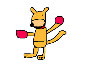 Aussie Land kangaroo by PikachuxAsh
