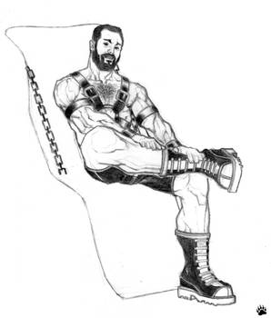 LEATHER MAN(oh,where can you be?)