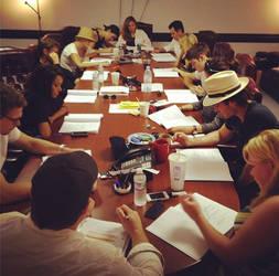 TVD cast reading season 4 ep. 1 script. by KakaSakufan4life