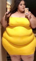 Fat boberry and her tight dress