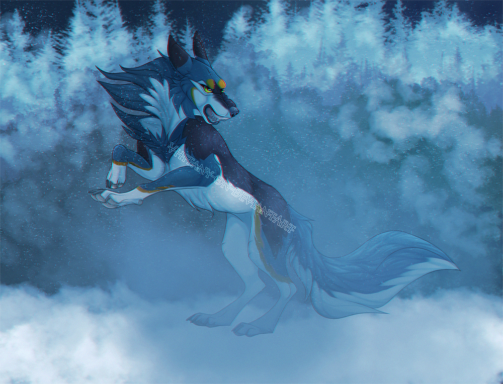 Rough Weather by Vhitany
