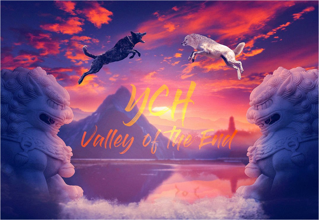 OPEN YCH Valley of the End Update 35 USD both by Vhitany
