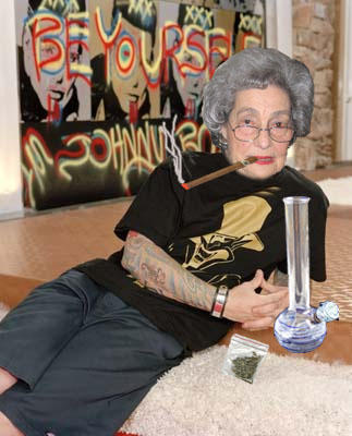 toking granny by mikedsa