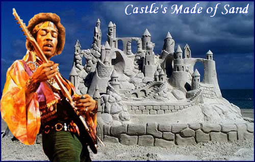 castles made of sand by mikedsa