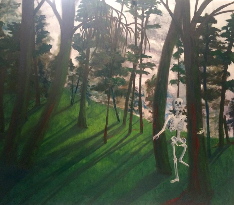Skeleton Forest by Joyose
