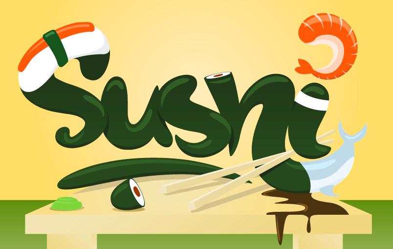 Sushi by jedrekkostecki