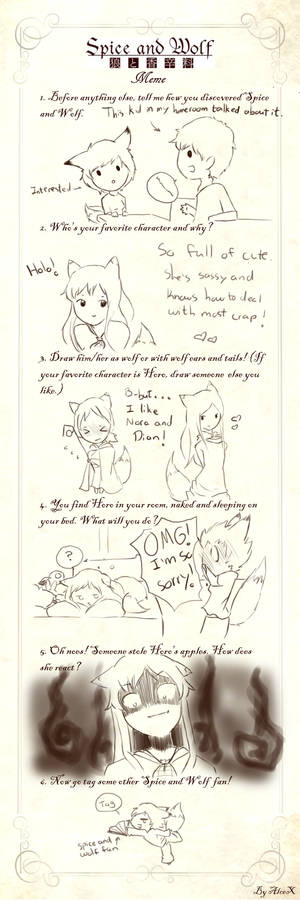 Spice and Wolf meme