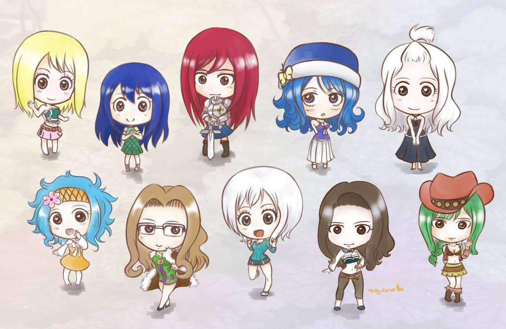 Anime Characters Chibi Fairy Tail images - Hdimagelib