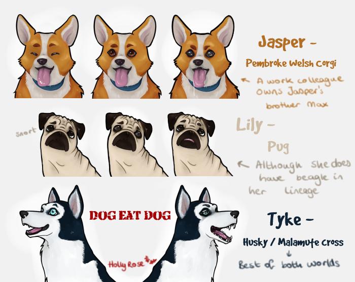 Dog Eat Dog, an indie Visual Novel game for RPG Maker VX