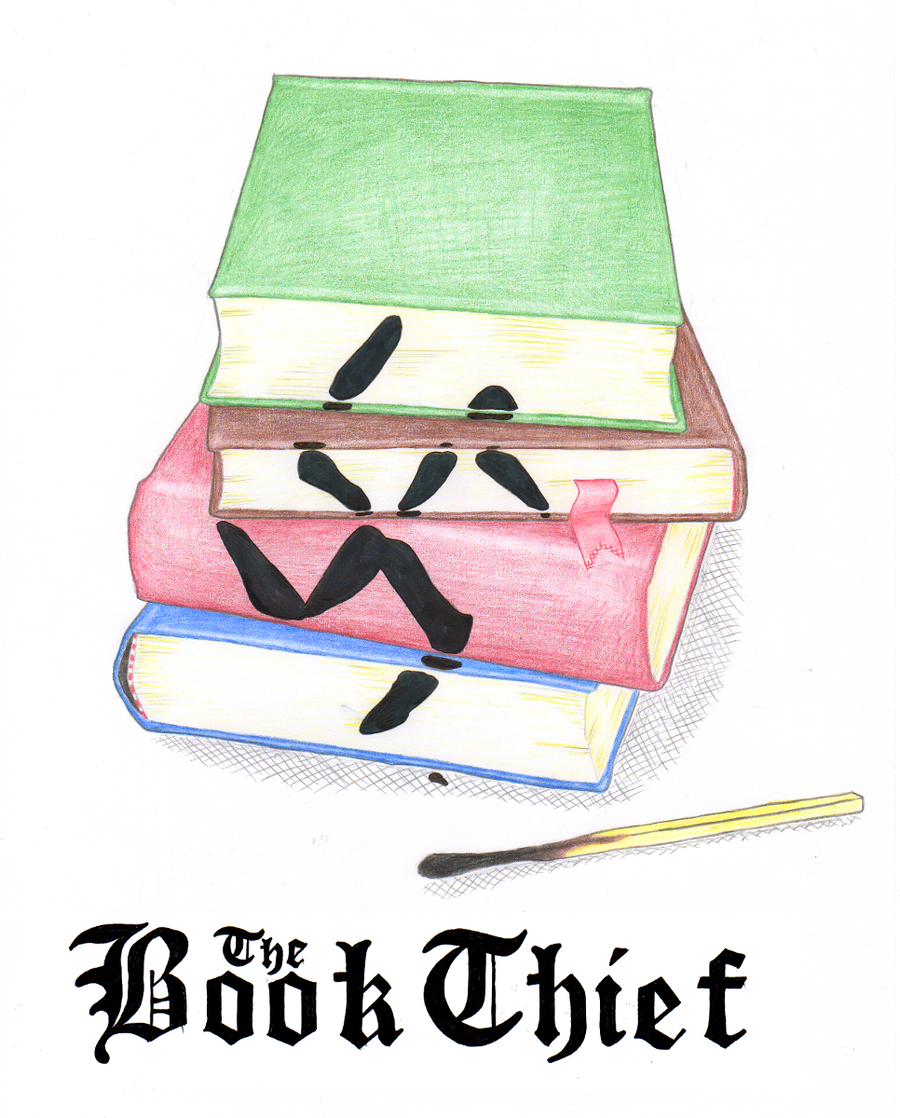 Book Thief Cover Art ~ The book thief by shift ing on deviantart