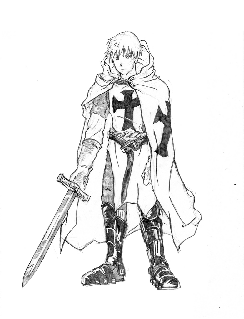 Front-Pose Teutonic Knight Prussia By Sagealina On DeviantArt
