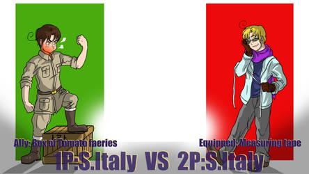 Hetalia Fight: 1PRomano vs 2PRomano