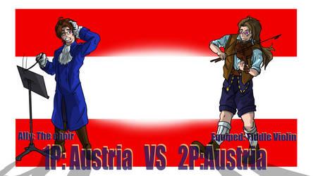 Hetalia Fight :1P Austria vs 2P Austria