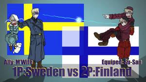 Hetalia Fight :1P Sweden vs 2P Finland