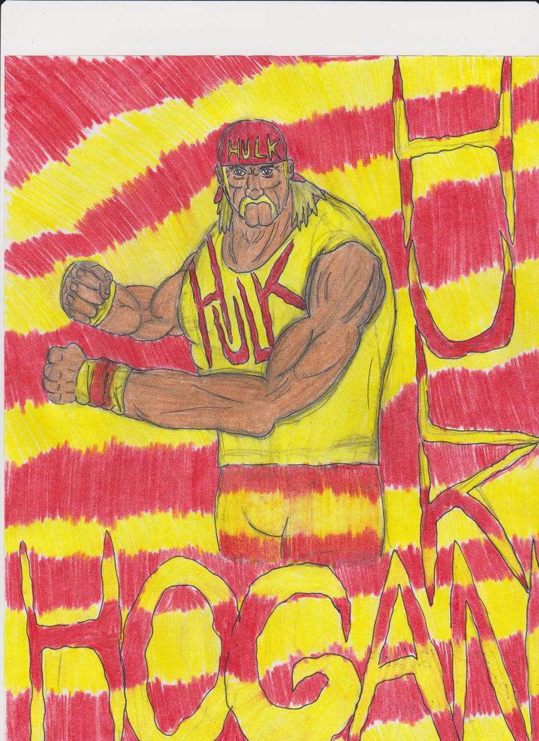 Eric's Hulk Hogan by BiggEzilla82