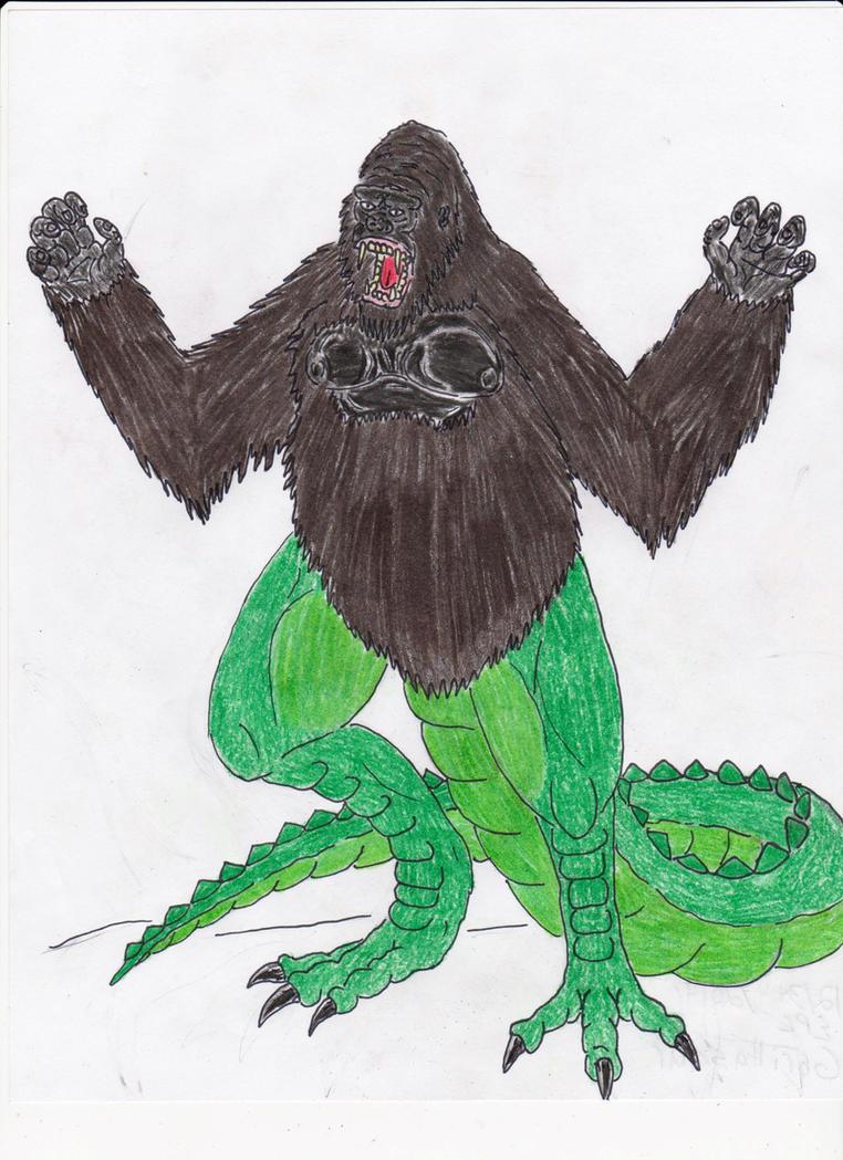 Gorillasaur by BiggEzilla82