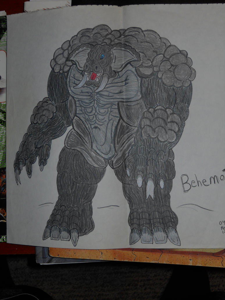 Behemoth by BiggEzilla82