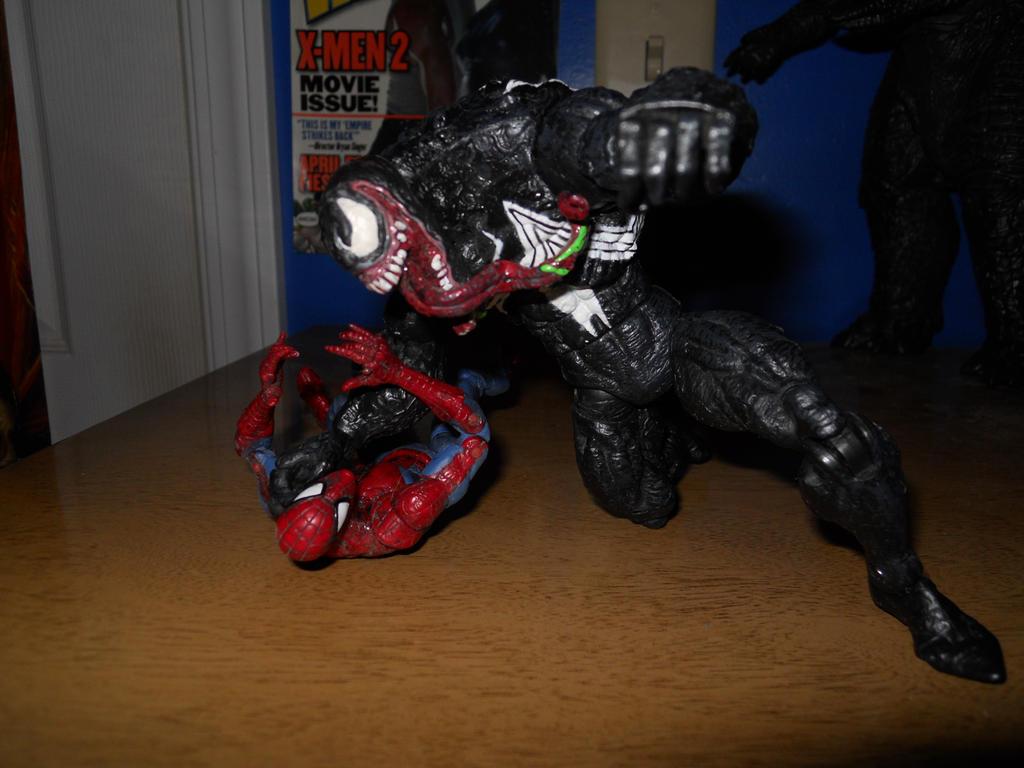 Venom vs Spider-Man 001 by BiggEzilla82