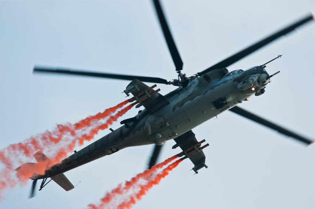 Mi-24 by Konrad22