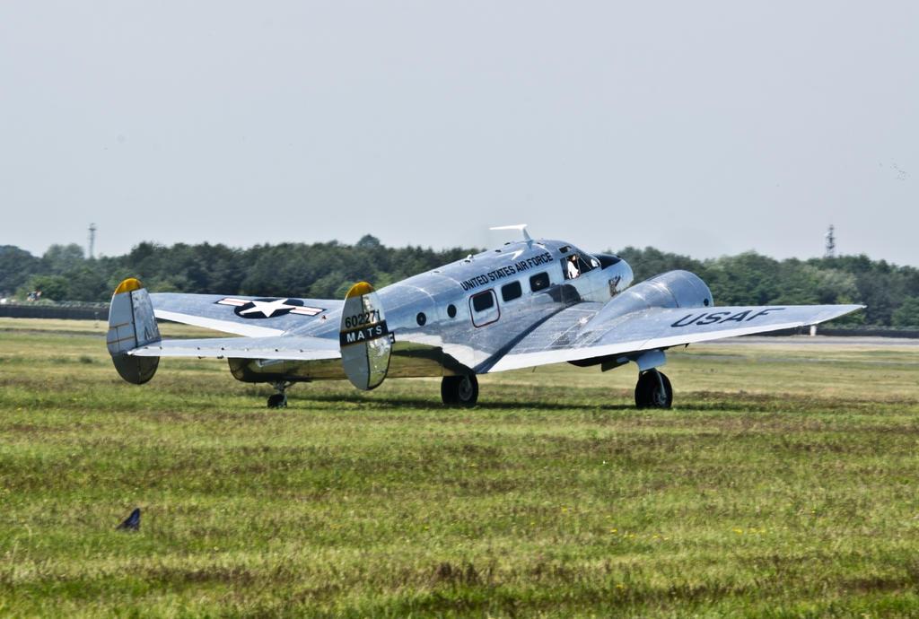 C45 Beechcraft by Konrad22