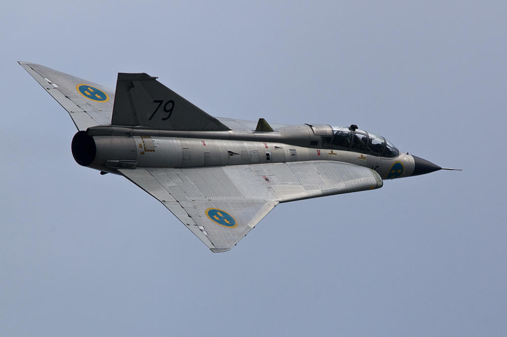 SK 35C Draken by Konrad22