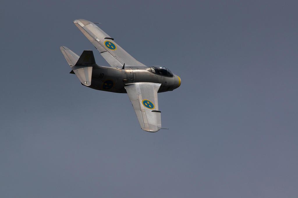 Saab J29 Tunnan by Konrad22
