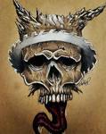 Razorblade Skull