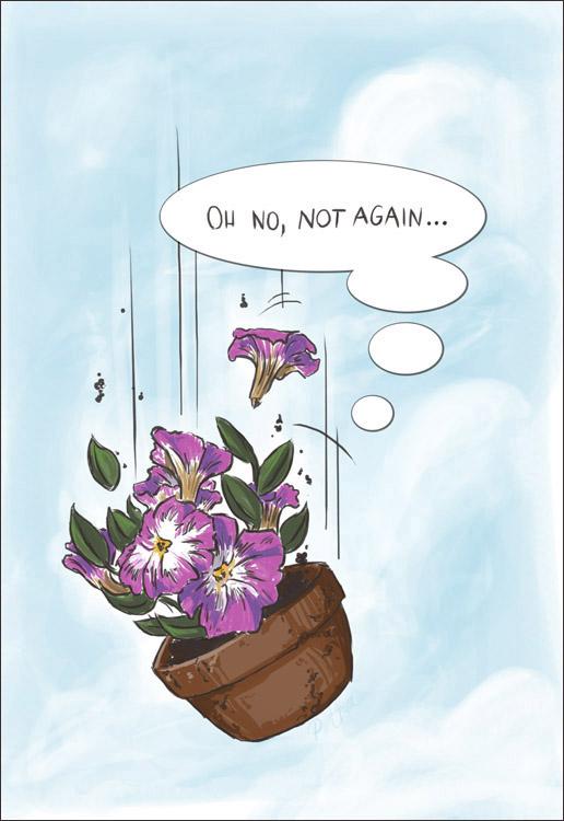 Bowl Of Petunias Quote
