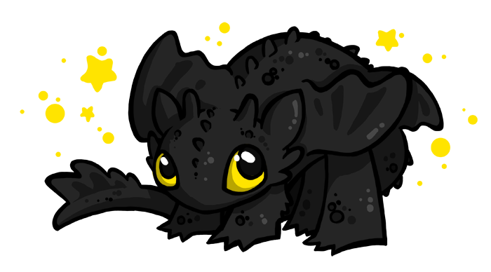 Toothless The Night Fury By P Korle