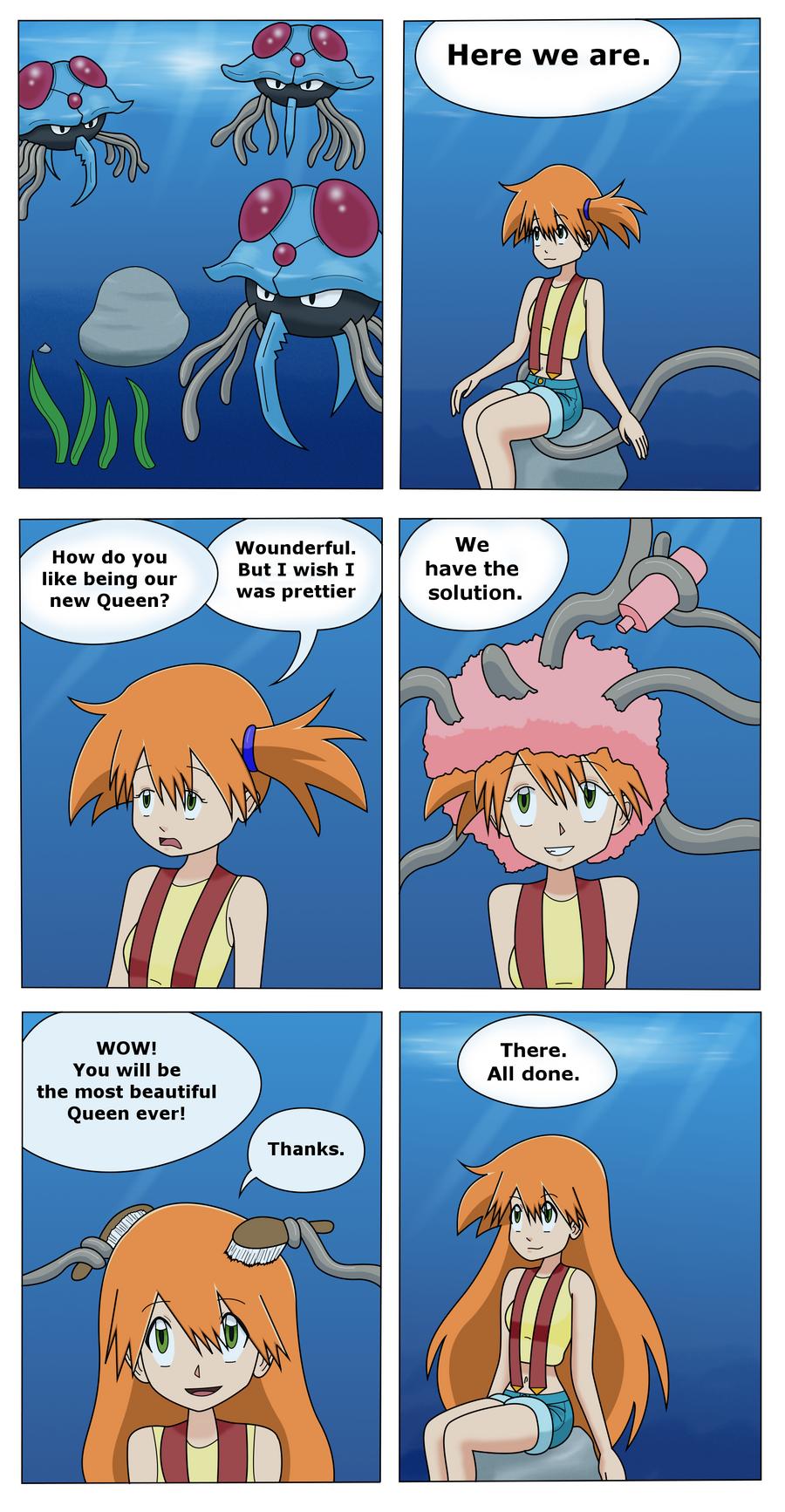 Pokemon Misty Comics