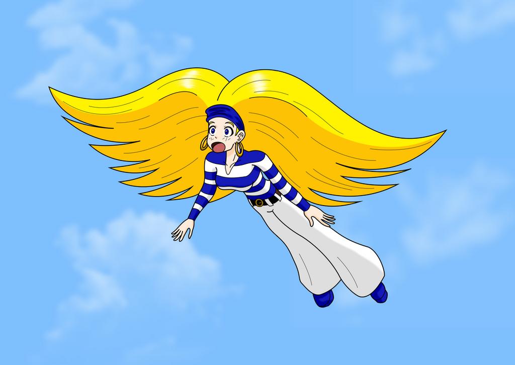 Tress Flying by MegatronMan