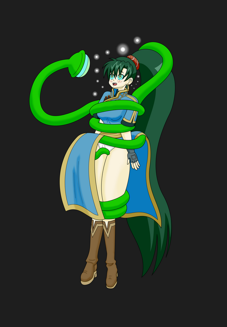 Lyn Hypnotized by Tentacle by MegatronMan