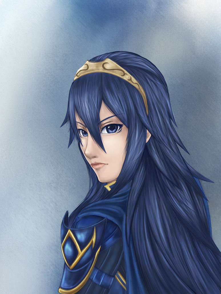 Lucina Portrait by aznswordmaster1