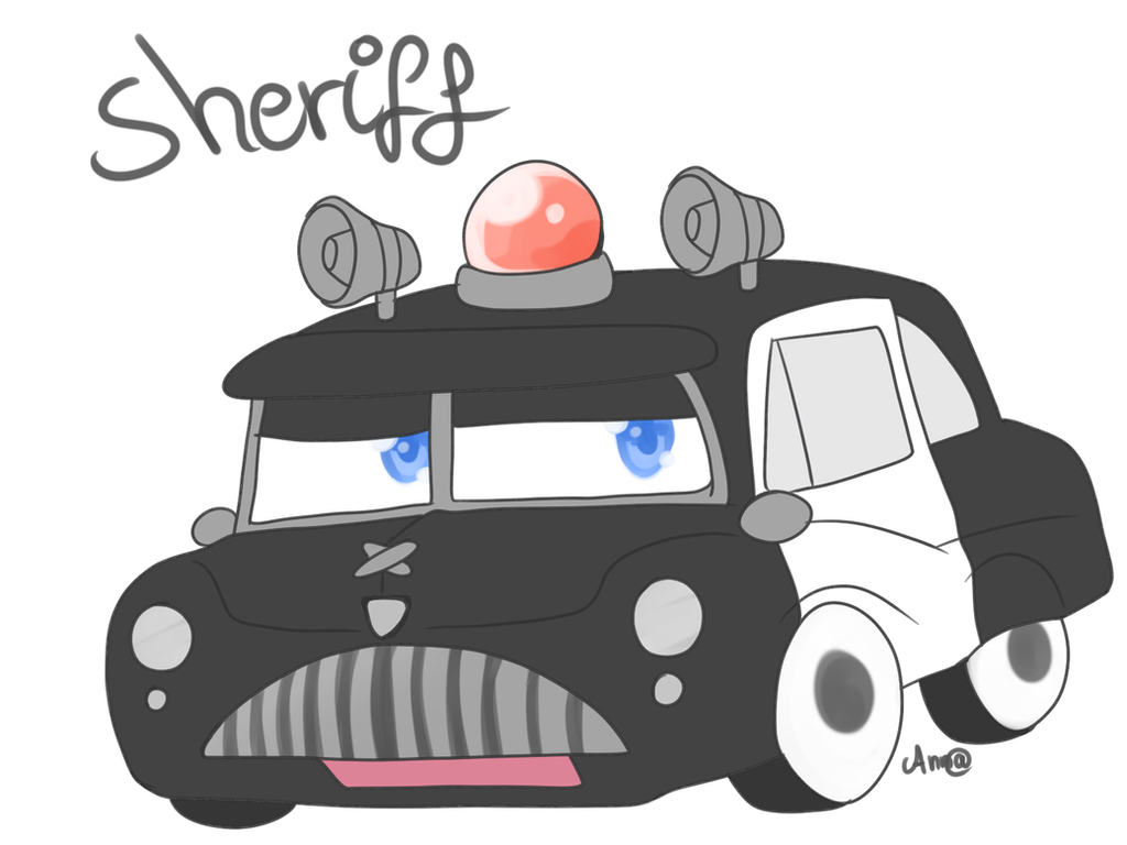 Cars Chibi Sheriff By Zitronenhamster On Deviantart