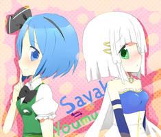 Sayaka VS Youmu
