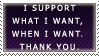 Support by electroniceyeballs