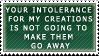 Intolerance by electroniceyeballs