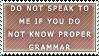 Grammar by electroniceyeballs