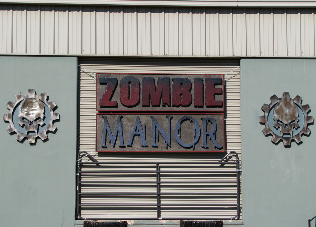 Zombie Manor Sign3 by joeadonis