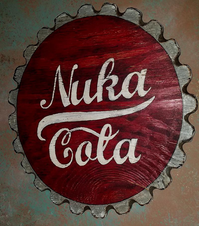 Nuka Cola Sign by joeadonis