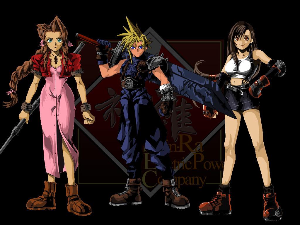 Final Fantasy 7 by joeadonis
