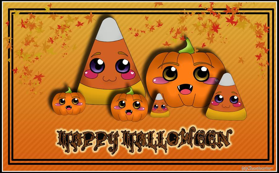 Happy Halloween by StrawberryCakeBunny
