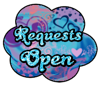 Requests open button by StrawberryCakeBunny