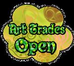 Art trades open button by StrawberryCakeBunny