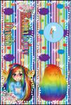 [Bookmark] Rainbow Dash by StrawberryCakeBunny