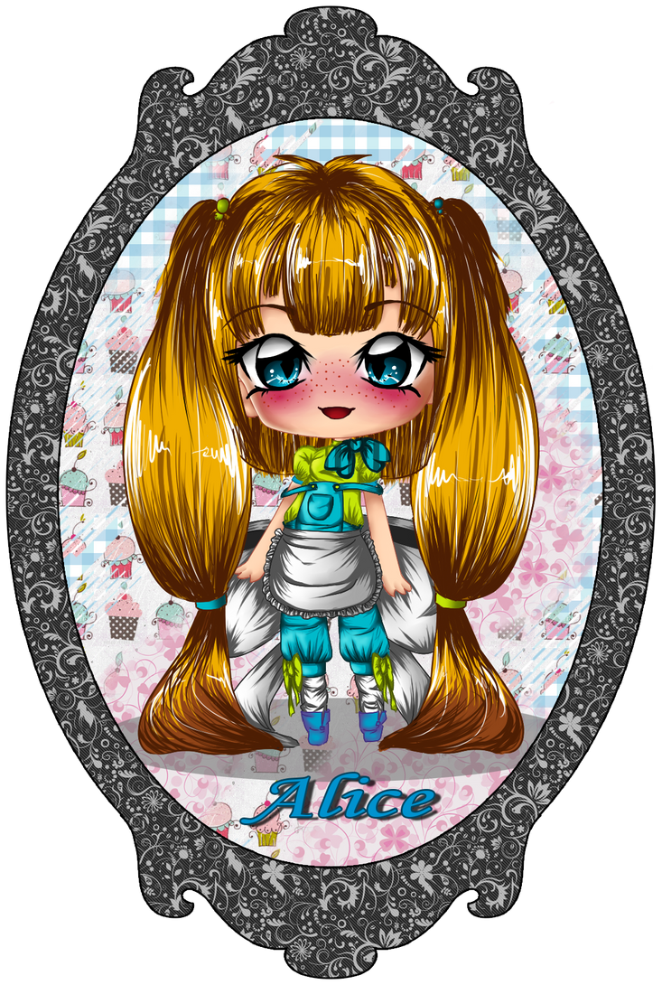 Derpy Design-Alice by StrawberryCakeBunny