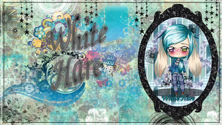 White Hare wallpaper by StrawberryCakeBunny