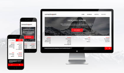 Web site design for Connectionpoint